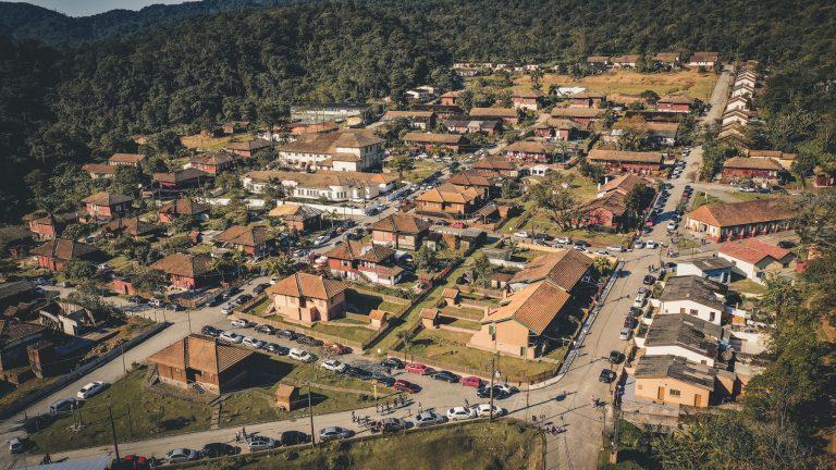 Parte Baixa Paranapiacaba, Vista Aérea Paranapiacaba, Paranapia, Paranapiacaba TUrismo