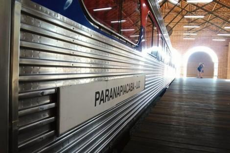 Foto do Expresso Turístico Paranapiacaba, Trem Turístico Paranapiacaba, Turismo em Paranapiacaba, CPTM Trem Turístico, OlhoVivo, Olho Vivo Paranapiacaba, Paranapiacaba Turismo