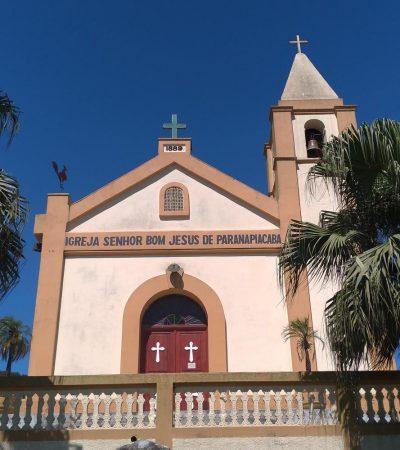 Igreja Bom Jesus Paranapiacaba, Paranapiacaba Turismo, Paranapia, Olho Vivo Turismo
